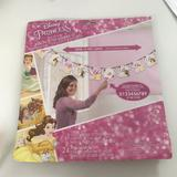 Disney Party Supplies | Disney Princess Banner Kit | Color: Pink/Yellow | Size: Over 10 Ft Long