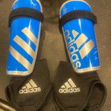 Adidas Other   Girls Soccer Shin Guards   Color: Blue   Size: Youth Large