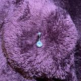 Brandy Melville Jewelry | Diamond Belly Button Ring | Color: Purple | Size: Os