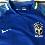 Nike Shirts & Tops | Nike Dri-Fit Brasil Youth Unisex Soccer Jersey | Color: Blue/Green | Size: Unisex Boys Girls