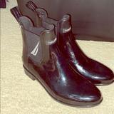 Zara Shoes   Black Nautica Rain Boots   Color: Black   Size: 8