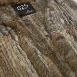 Zara Jackets & Coats | Rabbit Fur Vest - Real Fur | Color: Brown/Tan | Size: S