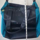Lululemon Athletica Bags | Lululemon Gym Bag Blue | Color: Blue/Green | Size: Os
