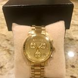 Michael Kors Accessories | Michael Kors Yellow Gold Toned Watch | Color: Gold | Size: Bracelet 6.5 Inches Long X Face 1.5 Inches Wide