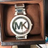 Michael Kors Accessories | Michael Kors Parker Quartz Movement Silver Watch | Color: Silver | Size: Os