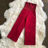 Lululemon Athletica Pants & Jumpsuits | Lululemon Stillness Pant (Red Snake Print) | Color: Black/Red | Size: 4