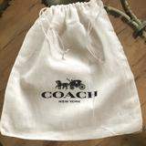 Coach Party Supplies | Coach Dust Bag Gift Wrap Gift Giving Packa | Color: White | Size: Os
