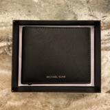 Michael Kors Accessories   Mens Michael Kors Leather Bi-Fold Andy Wallet   Color: Black   Size: Os
