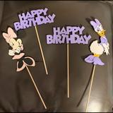 Disney Other   Minnie & Daisy Happy Birthday Banner & Props   Color: Pink/Purple   Size: Osbb