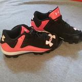 Under Armour Other | Kids Soccer Cleats | Color: Black/Pink | Size: 2.5y