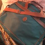 Ralph Lauren Accessories | Never Used Ralph Lauren Briefcase Purse Laptop Bag | Color: Brown/Green | Size: Os