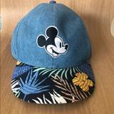 Disney Accessories | Boys Mickey Mouse Hat | Color: Blue | Size: Osb