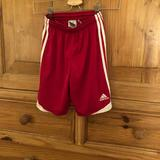 Adidas Bottoms   Kids Adidas Size M Red Shorts For Soccer   Color: Red/White   Size: Mg