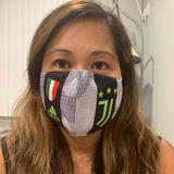 Adidas Accessories   Juventus Reusable Cotton Face Mask   Color: Red   Size: Os