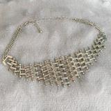 Urban Outfitters Jewelry   Free Bundle Item Silver Chain Choker   Color: Silver   Size: Os