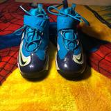 Nike Shoes   Nike Ken Griffey Jr. High Tops   Color: Blue/Green   Size: 2b