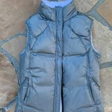 Nike Jackets & Coats   Nike Women'S Reversible 550 Duck Down Puffer Vest   Color: Gray/White   Size: S