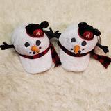 Disney Accessories | 2 Disney World Snowmen Lightup Hats | Color: Black/White | Size: Os