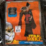 Disney Other | Star Wars Kimono Adult Costume! New! | Color: Black/Red | Size: Small 2-6