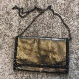 Urban Outfitters Bags   Bogo Urban Expressions Metallic Bag   Color: Black/Gold   Size: Os