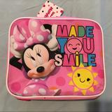 Disney Accessories | Minnie Mouse Lunch Bag | Color: Pink | Size: Osg