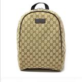 Gucci Bags | Gucci Micro Gg Guccissima Canvas Rucksack Backpack | Color: Brown/Tan | Size: Os
