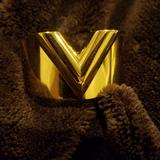 Louis Vuitton Jewelry | Louis Vuitton Bracelet Cuff Gold | Color: Gold | Size: Small