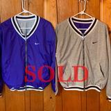 Nike Jackets & Coats   Nike Womens Reversible Jacket Sz Large   Color: Blue/Gray   Size: L