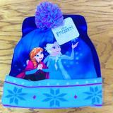 Disney Accessories   Disney Frozen Girl'S Hat   Color: Blue/Pink   Size: Osg