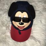 Disney Accessories | Boys Mickey Mouse Hat | Color: Blue/Red | Size: Osb