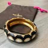 Kate Spade Jewelry   Kate Spade Blackwhite Magnetic Clasp Bracelet   Color: Black/White   Size: Os