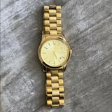 Michael Kors Accessories | Michael Lors Womens Analogue Watch | Color: Gold | Size: Os