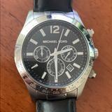 Michael Kors Accessories | Michael Korda Watch | Color: Black | Size: Os