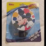 Disney Toys | Disney Mickey Mouse Night Light | Color: Blue | Size: Osbb