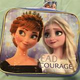 Disney Accessories | Frozen Lunch Bag | Color: Blue/Purple | Size: Osg