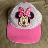 Disney Accessories   Disney Minnie Mouse Girls Hat   Color: Gray/Pink   Size: Osg
