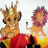 Disney Other | Lion King Birthday Party Package | Color: Blue/Red | Size: Children'S Baby Shower