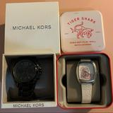 Michael Kors Accessories | Mk, Fossil Watch Bundle | Color: Black/White | Size: Os