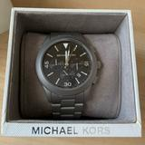 Michael Kors Accessories   Michael Kors Mens Silver Steel Blue Watch   Color: Gray/Silver   Size: Os