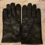 Coach Accessories | Mens Xl Coach Leather Gloves | Color: Black | Size: Xl