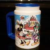 Disney Holiday   Authentic Disney Insulated Christmas Drink Cup   Color: Blue/White   Size: Os