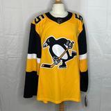 Adidas Shirts | Men'S Pittsburgh Penguins Adidas Yellow | Color: Black/Yellow | Size: Xxl