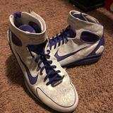 Nike Shoes   Nike Air Zoom Huarache 2k4 Kobe Laser   Color: Purple/White   Size: 15