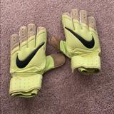 Nike Accessories | Nike Soccer Goalie Gloves | Color: Green/White | Size: Os