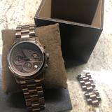 Michael Kors Accessories | Michael Kors Stainless Steel Watch | Color: Brown | Size: Os