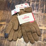 Levi's Accessories   Levi'S Intellitouch Suede Heritage Gloves Tan New   Color: Brown/Tan   Size: Various