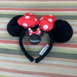 Disney Accessories | Minnie Mouse Ears And Antennae Ball | Color: Red/White | Size: Os
