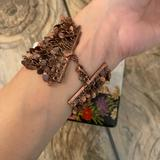 Anthropologie Jewelry   Anthropologie Cooper Dangle Metal Bracelet Jewelry   Color: Gold   Size: Os