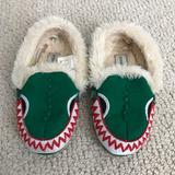J. Crew Shoes | Jcrew Crewcuts Kids Croc Slippers Size 11 Cute! | Color: Green/Red | Size: 11 Kids