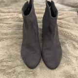 American Eagle Outfitters Shoes | Deep Grey Ankle Boots | Color: Gray | Size: 7.5